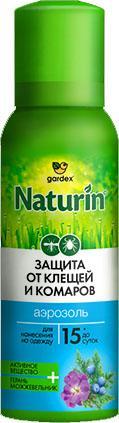 Gardex Naturin Аэрозоль от комаров и клещей на одежду