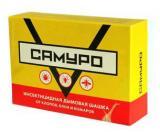 Инсектицидная дымовая шашка Самуро от клопов, комаров, мух, блох, ос, 50 гр.