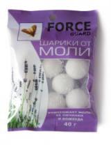 Форс гард шарики от моли 40 грамм.