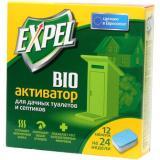Expel Биоактиватор для дачных туалетов и септиков в таблетках (12шт*20г)