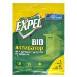 Expel биоактиватор для для дачных туалетов и септиков, саше в миниприлавке.