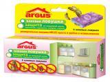 ARGUS клеевая ловушка. Защита от пищевой моли, тараканов, муравьев, мокриц, пауков.