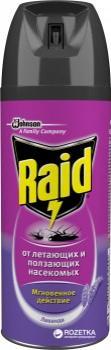 """Raid Средство инсектицидное от летающих и ползающих насекомых """"Лаванда"""""""