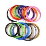 Цветной ABS-пластик для 3D ручек (15 цветов по 10м)