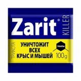 Zarit killer ТриКота гранулы от крыс и мышей 100г