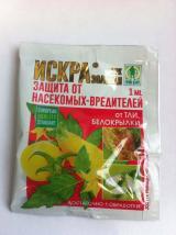 Искра Золотая против насекомых-вредителей, 1 мл.