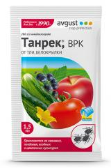 Танрек-средство от тли на плодовых, ягодных, овощных и цветочных культурах, 1.5 мл.