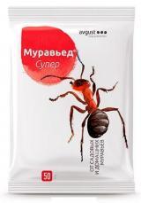 Муравьед Супер гранулы от всех видов домовых и садовых муравьев, 50 г.
