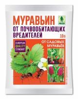 Муравьин средство от муравьев 10 гр