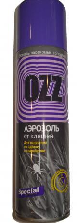 OZZ Аэрозоль от клещей