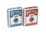 "Карты ""Bicycle Prestige"" 100% пластик, синяя рубашка"