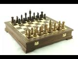"""Шахматы Сенеж """"Стаунтон"""", орех"""