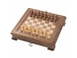 "Шахматы резные ""Квадро"" в ларце 50, Haleyan"