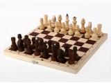 Шахматы обиходные парафинированные в комплекте с доской (без подклейки) (Орлов)