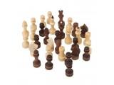 Шахматные фигуры обиходные парафинированные (Орлов)
