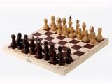 Шахматы обиходные лакированные в комплекте с доской (Орлов)