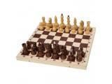 Шахматы турнирные утяжеленные в комплекте с доской (Орлов)