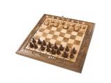 Шахматы + нарды резные 50, am453