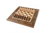 Шахматы + нарды резные 50, am454