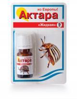 Актара - эффективный инсектицид для защиты картофеля от колорадского жука, 9 мл.