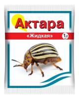 Актара - эффективный инсектицид для защиты картофеля от колорадского жука, 1,2 мл.