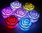 Светодиодная свечка-ночник «Роза» LL0106R