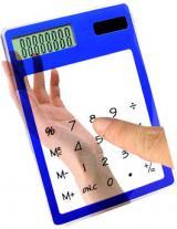 Сенсорный прозрачный калькулятор E4118B.