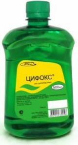 Средство для борьбы с насекомыми ЦИФОКС 0,5 литра