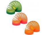 """Пружинка """"Slinky Неон"""", двухцветная"""