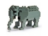 "Мини-конструктор Nanoblock (Наноблок) ""Африканский Слон"", 130 элементов"