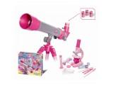 """Набор для исследований """"Телескоп и микроскоп для девочек"""", 35 предметов"""