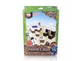"""Бумажный конструктор """"Minecraft Papercraft"""" Игровой мир """"Снежный биом"""" 48 деталей"""