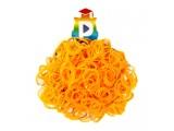 Комплект дополнительных резиночек №30 (цвет светло-оранжевый, 300 шт.)