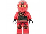Будильник Lego Ninjago Jungle, минифигурка Ninja Kai