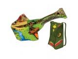 Игровой набор ЗипБин Динозавр: рюкзак-коврик, одна игрушка