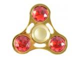 "Спиннер для рук ""Top Spinner. Crystall"", металлический подшипник, цвет желтый"