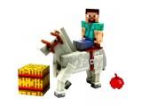 """Игрушка-фигурка Minecraft """"Steve with Horse"""" с аксессуарами, 8 см"""