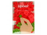 """Пиксельные фишки большие """"Upixel"""", цвет красный"""