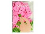 """Пиксельные фишки большие """"Upixel"""", цвет розовый"""