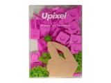 """Пиксельные фишки большие """"Upixel"""", цвет фуксия"""