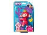 """Интерактивная  обезьянка """"Белла"""", цвет розовый"""