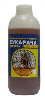 Кукарача 1 л. средство от тараканов, клопов и других вредных насекомых.