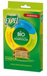 Биоактиватор Expel для компоста 2 саше в упаковке.