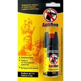 Средство AntiDog (антидог) для защиты от агрессивных собак и животных, 65 мл.