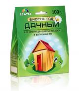 Биосостав Дачный для туалетов и выгребных ям 100гр