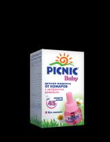 «Picnic Baby» - жидкость от комаров (защита 45 ночей).