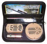 Набор для рыбалки «Летний 2» (1 электронная кормушка «Хищник», 1 электронная кормушка «Плавающая» и 1 электронный сигнализатор поклевки «Сойка-3»).
