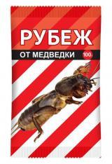 ПРЕПАРАТ «РУБЕЖ» — ОТ МЕДВЕДКИ, ПАКЕТ 100 гр.