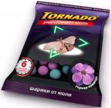 Торнадо шарики от моли 50гр (с запахом лаванды)