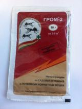 Гром-2 Микрогранулы от муравьев и комнатных почвенных мушек 10 г.